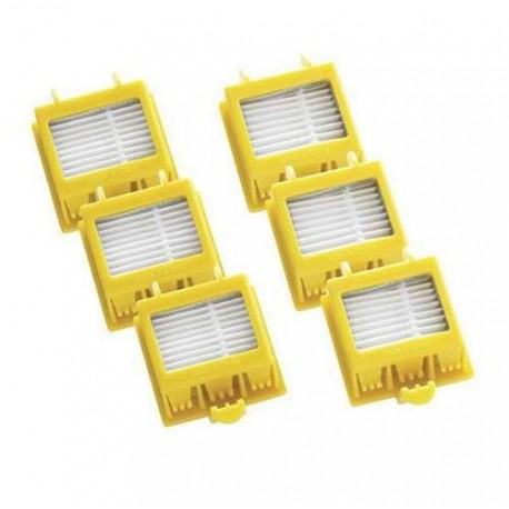 Pack 6 filtros Roomba Serie 700