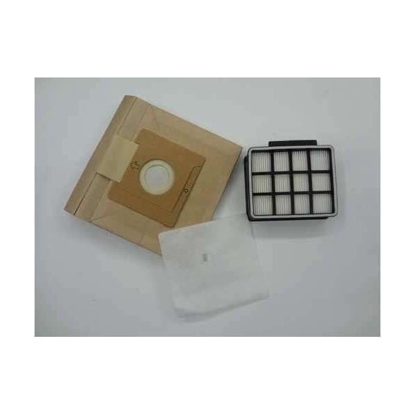 Kit Bolsas y filtro de aspirador Ufesa AC5010  AC5015 Originales