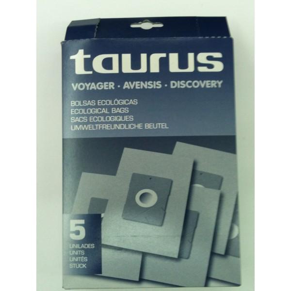 Bolsa de aspirador Taurus Voyager, Avensis, y Discovery