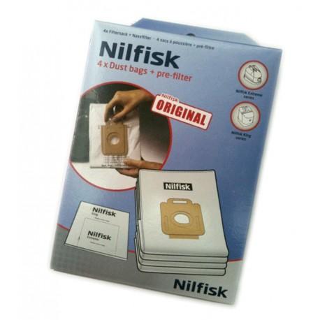 Bolsas Originales de aspirador Nilfisk series Extreme y King
