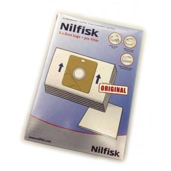 Bolsas aspirador Nilfisk serie Coupe, Compact y Go