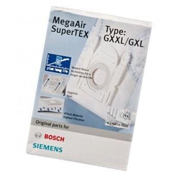 Bolsas Originales Bosch para aspirador Bosch  y Siemens GXXL