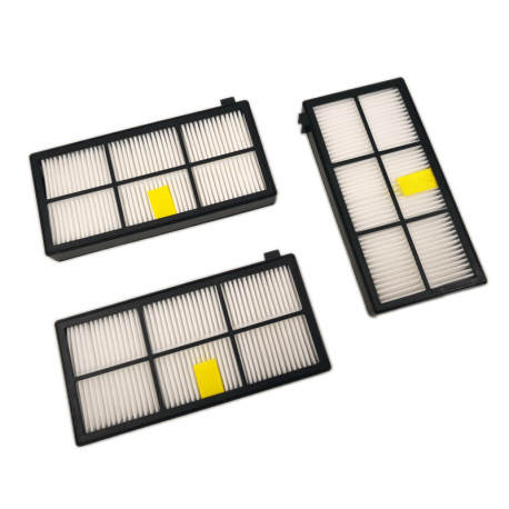 Pack 3 filtros Roomba Serie 800