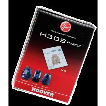 4 Bolsas de aspirador Hoover H30S Originales