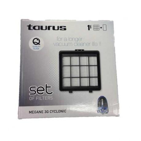 Recambio filtros aspirador Taurus Megane 3G Cyclonic