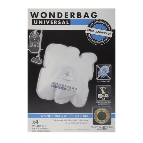 Bolsas de aspirador Rowenta Originales Wonderbag Allergy Care