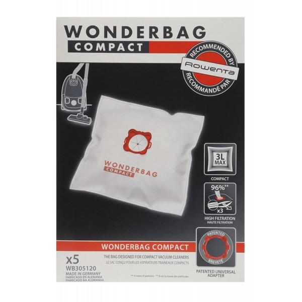 Bolsa de aspirador Rowenta Wonderbag Compact